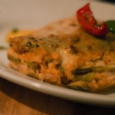 Teller mit Lasagna Klassica